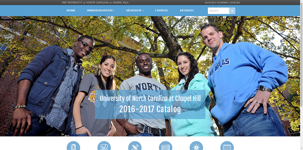 Check Out UNC-Chapel Hill's New Online University Catalog